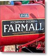 Farmall F-14 Tractor I Metal Print