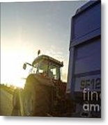 Farmers World Metal Print
