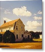 Farmhouse Landscape Metal Print