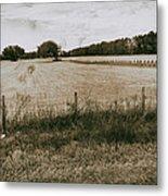 Farming Metal Print
