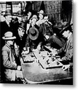 Faro Game Orient Saloon C. 1900 - Arizona Metal Print