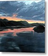 Farsund Sunrise Metal Print