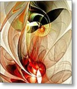 Fascinated Metal Print