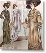 Fashion Advert For Eloy Mignot Metal Print