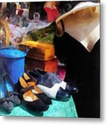 Fashion - Clothing For Sale At Flea Market Metal Print