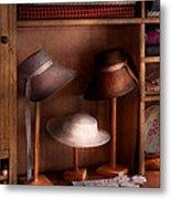 Fashion - Hats On Sale Metal Print