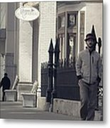 Fashion On The Street Metal Print by Dan Sproul