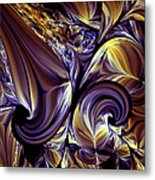 Fashion Statement Abstract Metal Print