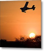 Fast And Low Metal Print