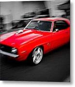 Fast Camaro Metal Print by Phil 'motography' Clark