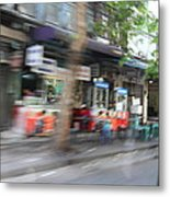 Fast Paced City Life - Bangkok Thailand - 01132 Metal Print by DC Photographer