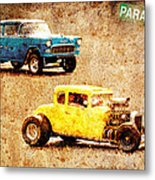 Fastest Car In The Valley Metal Print