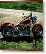 Fat Boy Metal Print by Bruce Kessler
