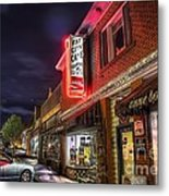 Fat City Cafe Metal Print