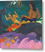 Fatata Te Miti.by The Sea Metal Print