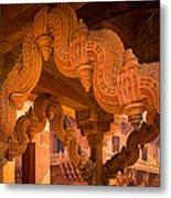 Fatehpur Sikri Detail Metal Print