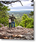Father And Son Metal Print by Tamyra Ayles