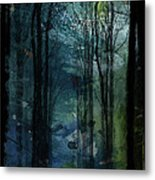 Father Frost Is Coming Metal Print
