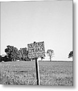 Father's Plea Metal Print
