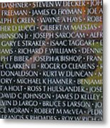 Fathers Sons And Brothers Of The Wall Metal Print