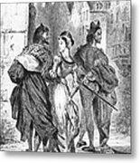 Faust: Mephistopheles 1828 Metal Print