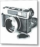 Favorite Camera Metal Print by Robert Mollett