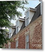 Fayetteville Brick House Metal Print by Kevin Croitz