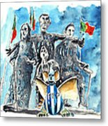 Fcporto In Vila Cha Metal Print