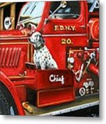 Fdny Chief Metal Print
