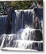 Fdr Memorial - Washington Dc - 01131 Metal Print
