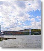 Fdr Mid Hudson Bridge - Poughkeepsie Ny Metal Print