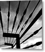 Fear And Anger Metal Print