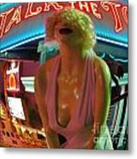 Fear And Loathing In My Vegas Metal Print