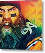 Fear Da Beard Metal Print by Scott Spillman