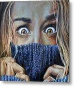 Eyes Metal Print by Leida  Nogueira