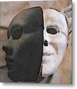 Fear Unmasked Metal Print
