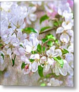 Feast Of Life 23 - Spring Wreath Metal Print