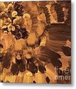 Feather Flower 2 Metal Print