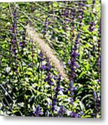 Feather In The Crowd Metal Print