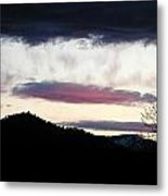 Feather In The Sky Metal Print