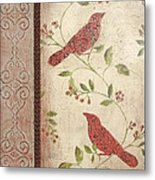 Feathered Friends Metal Print