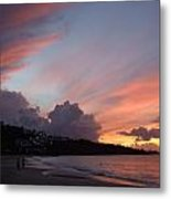 Feathers In The Sky Metal Print