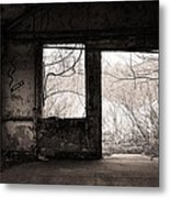 February - Comfortable Seclusion - Self Portrait Metal Print