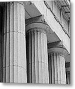 Federal Hall Columns Metal Print