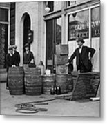 Federal Prohibition Agents 1923 Metal Print