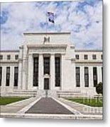 Federal Reserve Building No1 Metal Print