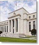 Federal Reserve Building No2 Metal Print