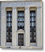 Federal Reserve Metal Print