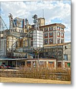 Feed Mill Hdr Metal Print