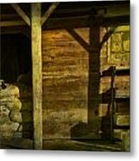 Feed Mill Store Metal Print by Randall Nyhof